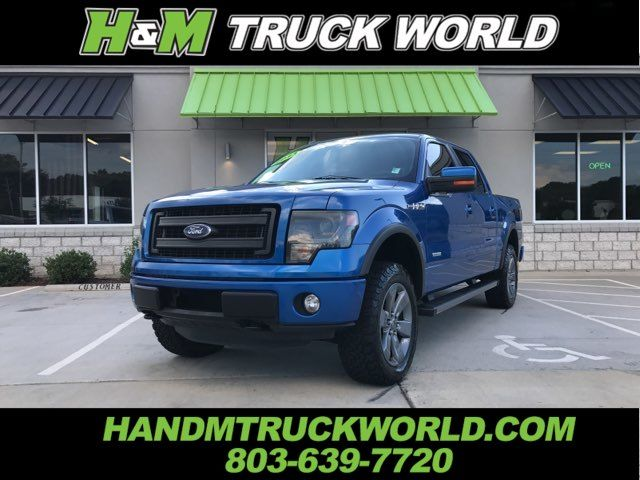 2013 Ford F-150 FX4 *LEVELED*NAV*ROOF*20'S* BLUE FLAME PAINT WOW