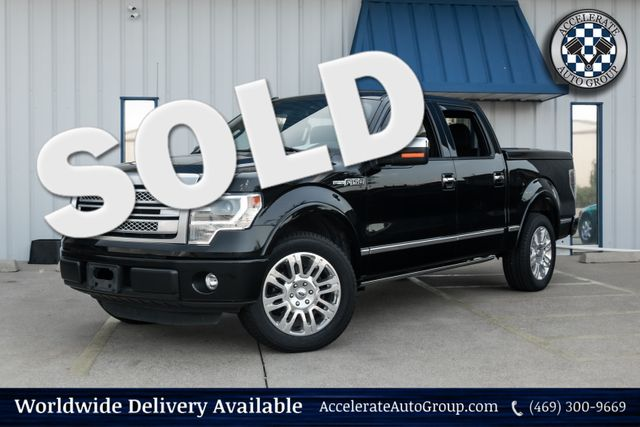 2013 Ford F-150 Platinum in Rowlett