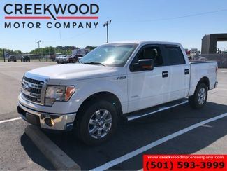 2013 Ford F-150 XLT 2WD Crew Cab EcoBoost White Low Miles Chrome in Searcy, AR 72143