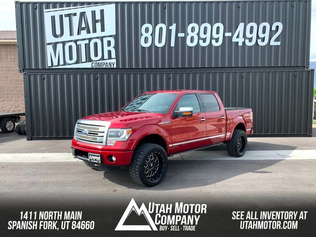 2013 Ford F-150 Platinum in Spanish Fork, UT 84660