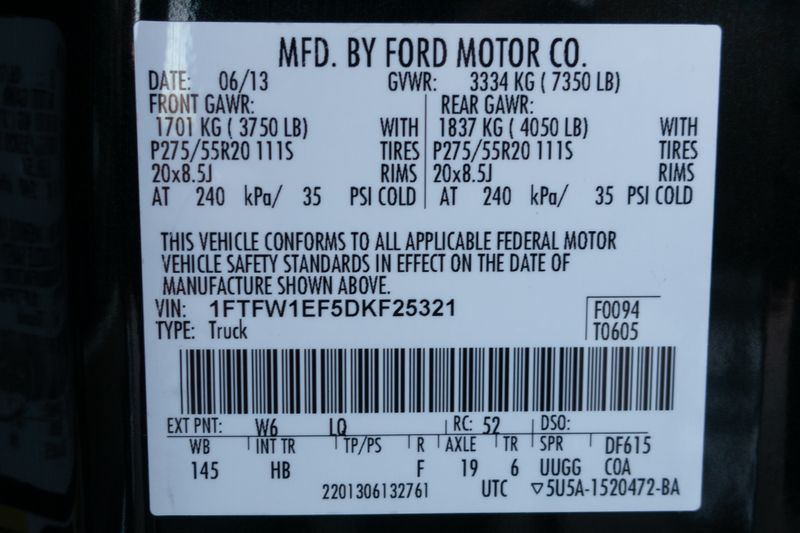 2013 Ford F-150 Lariat   Texas  EURO 2 MOTORS  in , Texas