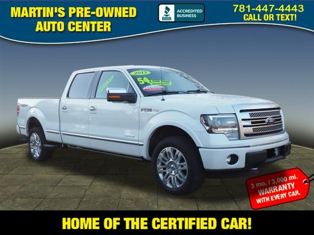 2013 Ford F-150 Platinum in Whitman, MA 02382