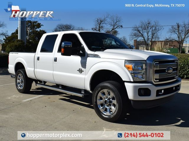 2013 Ford F-250SD Platinum