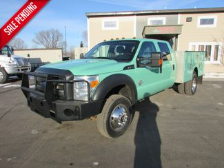 2013 Ford F-450 4x4 Crew-Cab Service Utility Truck XL  St Cloud MN  NorthStar Truck Sales  in St Cloud, MN