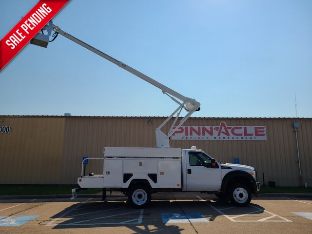 2013 Ford F-450 ETI 40' BUCKET TRUCK WITH PTO ON ENGINE XL F450 6.8 GAS PTO ON ENGINE in Irving, TX 75039