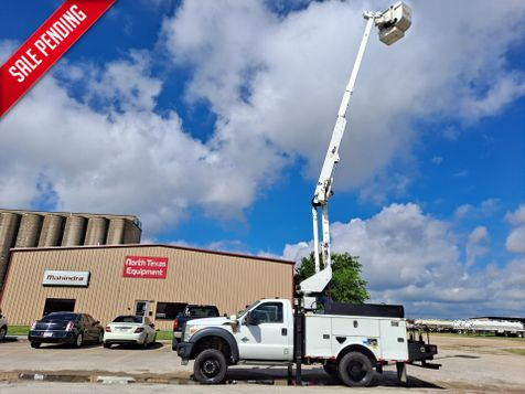 2013 Ford F-550 42' ALTEC 4X4 ARTICULATING & TELESCOPIC BUCKET TRUCK  in Fort Worth, TX