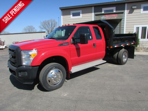 2013 Ford F-550 4x2 Ext-Cab W/New 9' Contractor Dump  in St Cloud, MN