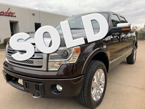 2013 Ford F150 Platinum in Dallas
