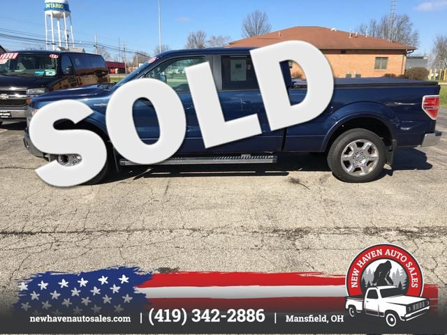 2013 Ford F150 LARIAT SUPERCREW 4X4 in Mansfield, OH 44903