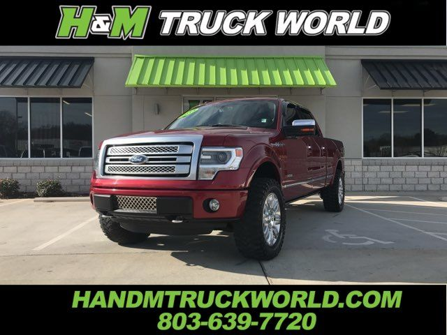 2013 Ford F150 Platinum *SUSPENSION LEVEL* 20'' WHEELS WITH 35'S*