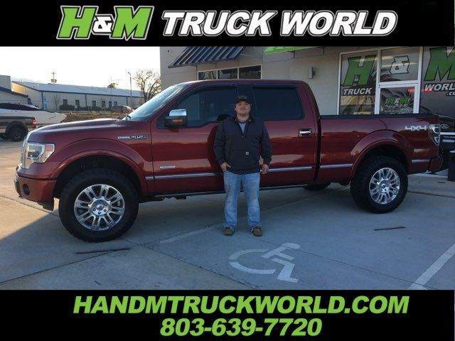 2013 Ford F150 Platinum *SUSPENSION LEVEL* 20'' WHEELS WITH 35'S* in Rock Hill, SC 29730