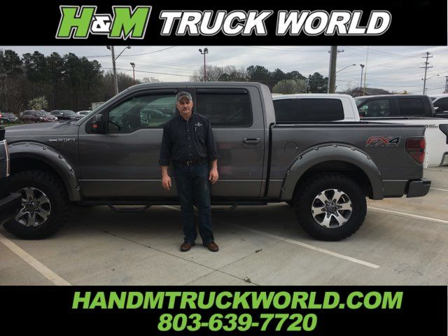 2013 Ford F150 FX4 *LEVELED* PAINTED BUSH-WACKER FLARES* SHARP in Rock Hill, SC 29730
