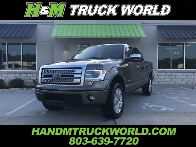 2013 Ford F150 Platinum 4x4 *NAV* *ROOF* POWER BOARDS