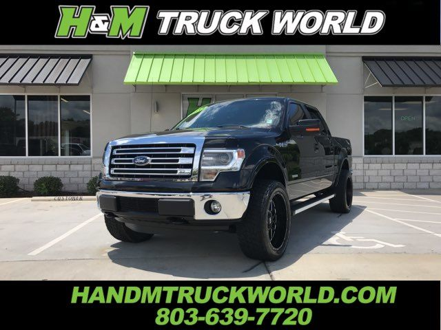 2013 Ford F150 Lariat 4X4 *LIFTED* 22'' BLACK XD'S SUPER SHARP