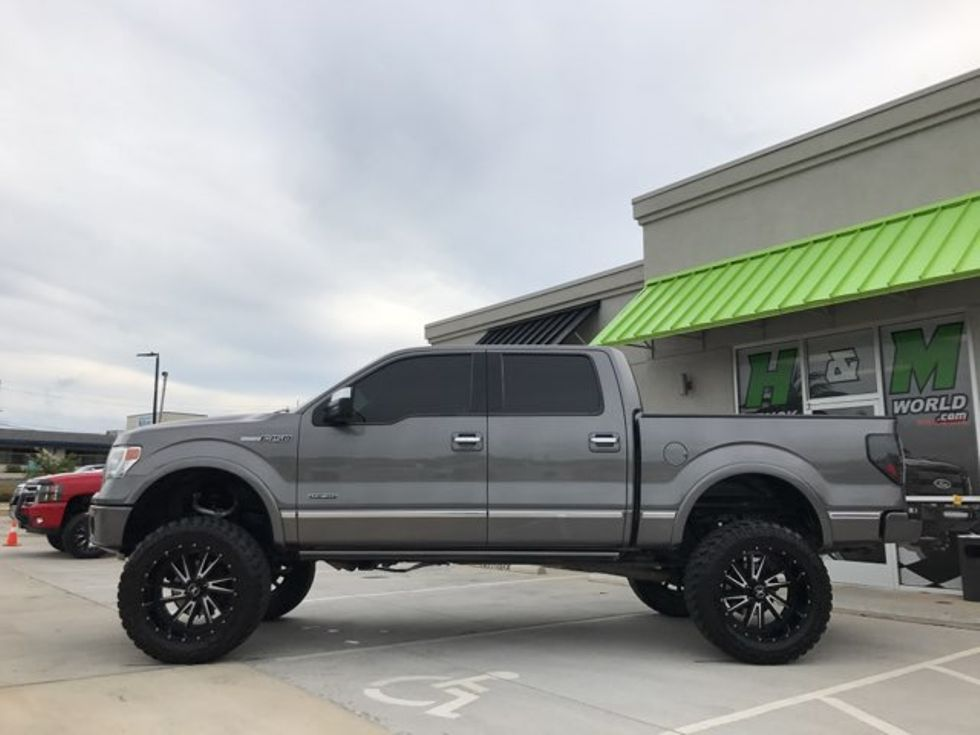 Ford F150 Platinum Lifted >> 2013 Ford F150 Platinum 4x4 Lifted 22 S With 37 S Ecobeast