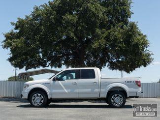 2013 Ford F150 Crew Cab Platinum EcoBoost 4X4 in San Antonio Texas, 78217