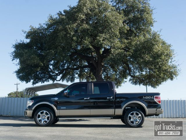2013 Ford F150 Crew Cab King Ranch Eco Boost 4X4