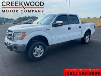2013 Ford F-150 XLT 4x4 Crew Cab Eco Boost White New Tires Chrome in Searcy, AR 72143