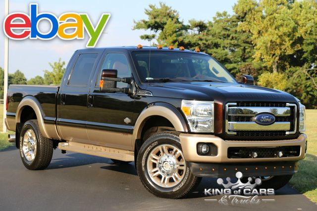 2013 Ford F250 Crew Cab KING RANCH 6.7L DIESEL 46K KING RANCH 6.7L DIESEL 46K