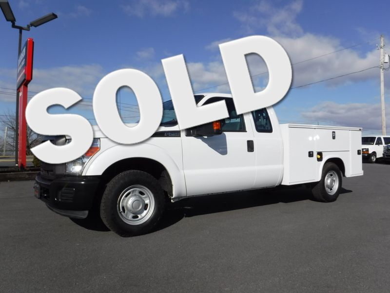 2013 Ford F250 Extended Cab 2wd with New 8' Knapheide Utility Bed in Ephrata PA