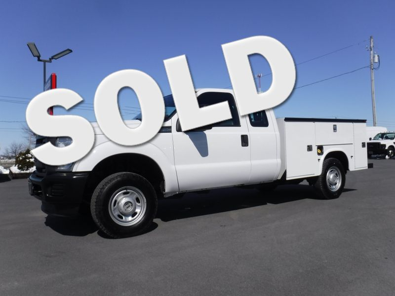 2013 Ford F250 Extended Cab Utility 4x4 in Ephrata PA