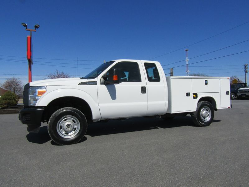 2013 Ford F250 Extended Cab 4x4 with New 8' Knapheide Utility Bed in Ephrata PA