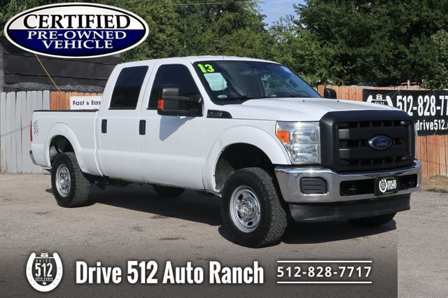 2013 Ford F250 SUPER DUTY 4X4 Crew Cab