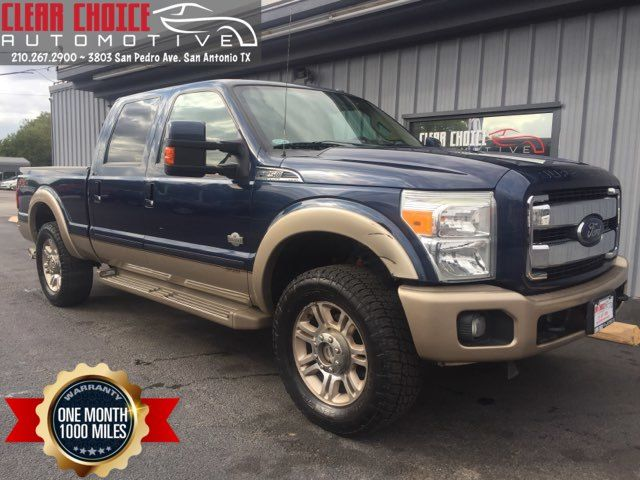 2013 Ford F250SD KING RANCH
