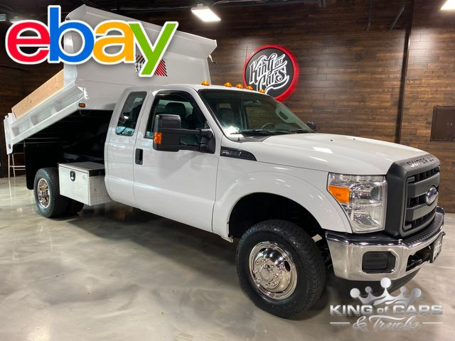 2013 Ford F350 4x4 Ext Cab 6.2L V8 MASON DUMP ONLY 68K MILES 1-OWNER in Woodbury, New Jersey 08093