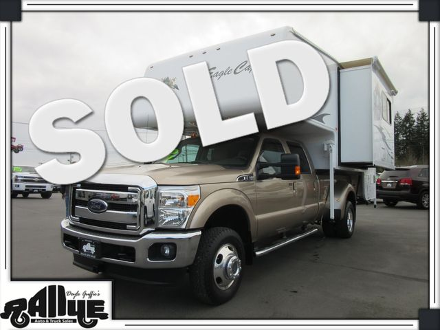 2013 Ford F350 Lariat C/Cab 4WD Dually