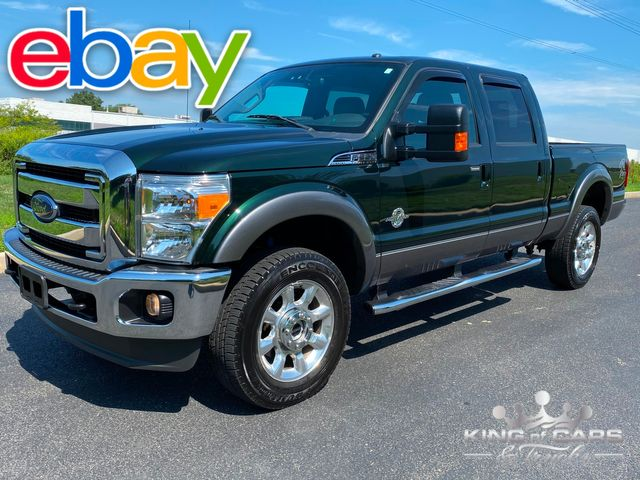 2013 Ford F350 Crew Cab 6.7L DIESEL 4X4 LARIAT 2-OWNER ONLY 58K MILE