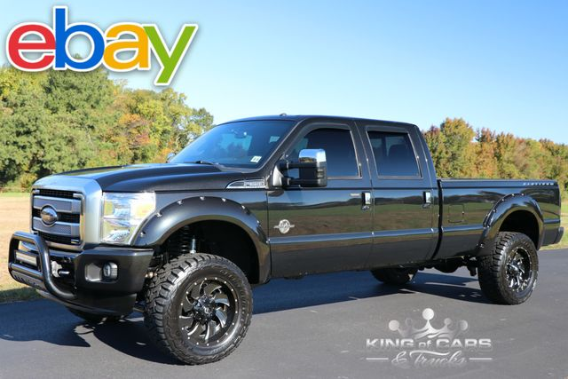 2013 Ford F350 Crew Cab PLATINUM 6.7L DIESEL 109K MILES LIFTED 4X4 in Woodbury New Jersey, 08096