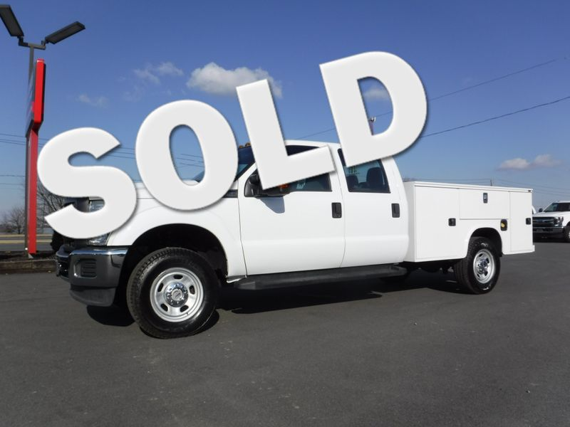 2013 Ford F350  Crew Cab 4x4 with New 9' Knapheide Utility Bed in Ephrata PA