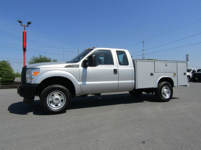 2013 Ford F350 Extended Cab 4x4 with 9' Reading Utility Bed