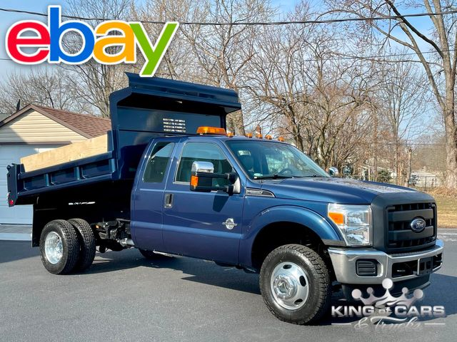 2013 Ford F350 Ext Cab 4x4 6.7 DIESEL MASON DUMP LIKE NEW