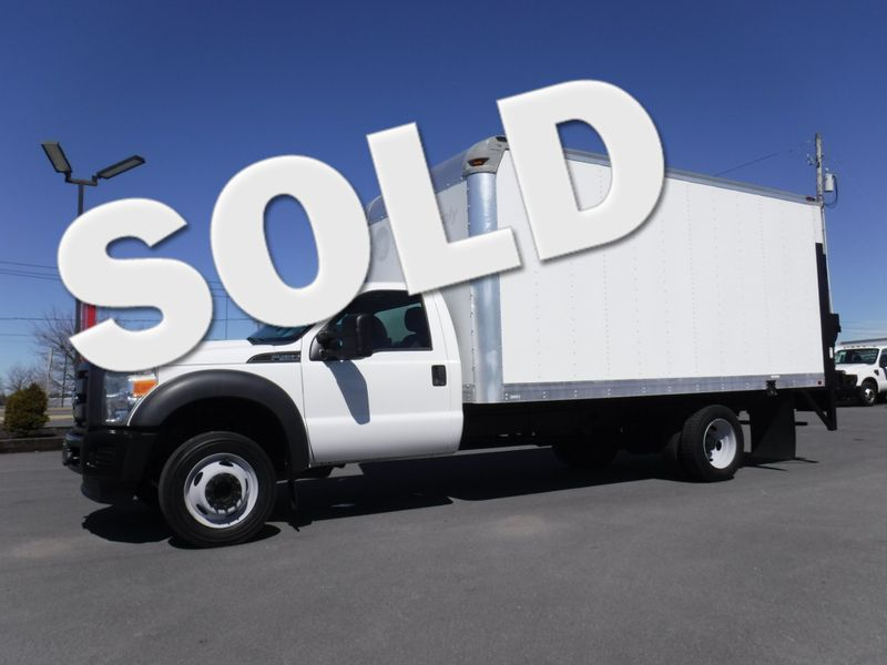 2013 Ford F450 16' Box Truck with Lift Gate in Ephrata PA