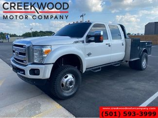 2013 Ford Super Duty F-450 Platinum 4x4 Diesel Dually Flatbed Lifted NewTires in Searcy, AR 72143
