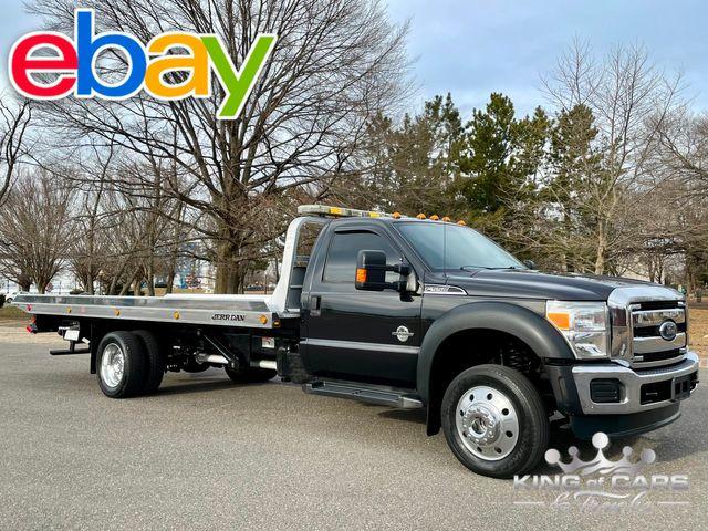 2013 Ford F550 4x4 Diesel 6.7L JERR-DAN ROLLBACK TOW TRUCK MINT LOW MILES in Woodbury, New Jersey 08093