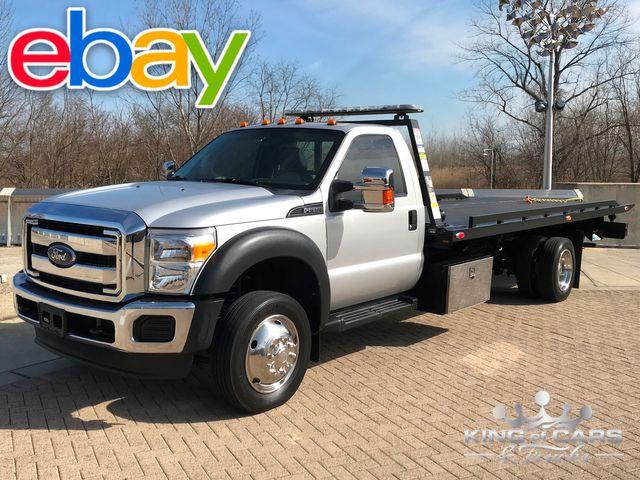 2013 Ford F550 Danco 2-Car ROLLBACK 6.8L V10 49K ACTUAL MILES 1-OWNER 2-CAR FLATBED