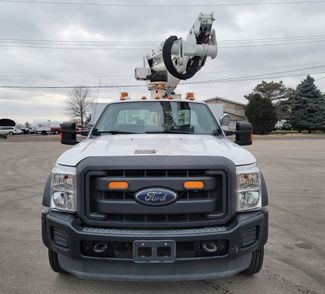 2013 Ford F550 bucket truck Lake In The Hills, IL 7