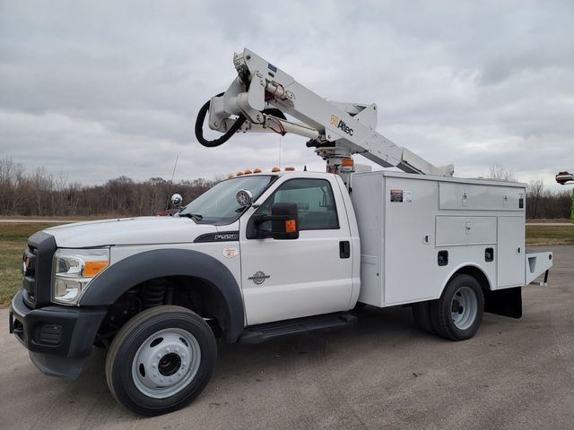 2013 Ford F550 bucket truck Lake In The Hills, IL 6