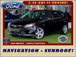 2013 Ford Focus Titanium - NAVIGATION - SUNROOF - HANDLING PKG! Mooresville , NC