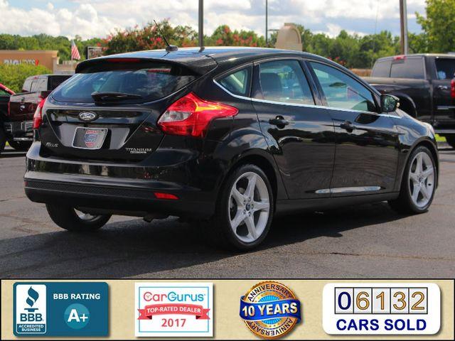 2013 Ford Focus Titanium - NAVIGATION - SUNROOF - HANDLING PKG! Mooresville , NC 2