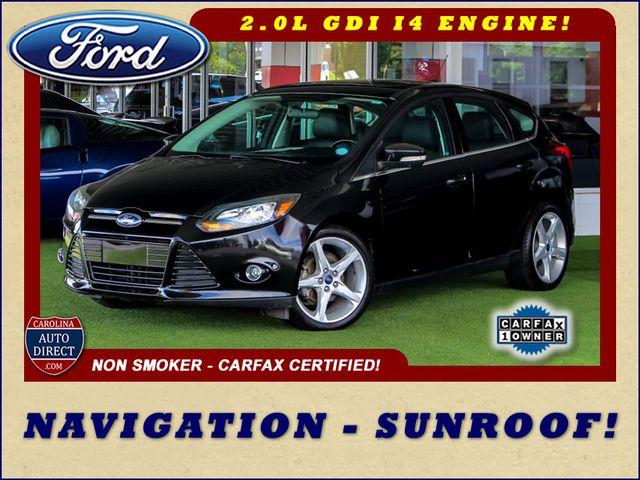 2013 Ford Focus Titanium - NAVIGATION - SUNROOF - HANDLING PKG! Mooresville , NC 0