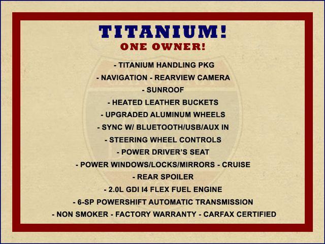 2013 Ford Focus Titanium - NAVIGATION - SUNROOF - HANDLING PKG! Mooresville , NC 1