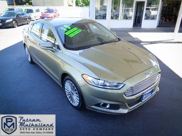 2013 Ford Fusion Titanium in Chico, CA 95928