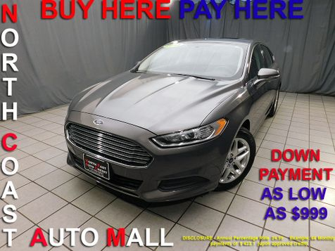 2013 Ford Fusion SE As low as $999 DOWN in Cleveland, Ohio
