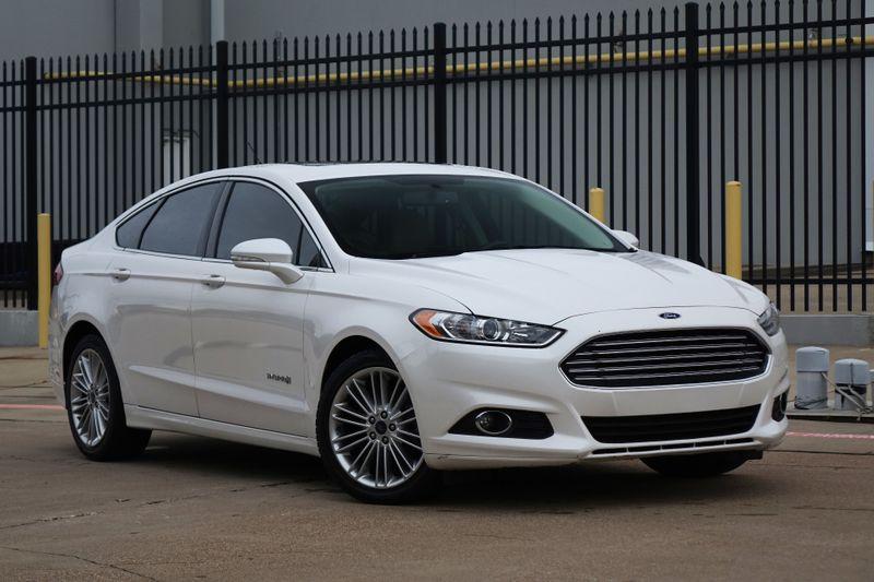 2013 Ford Fusion Hybrid SE*Nav*BU Cam*Sunroof*Leather* EZ Finance**   Plano, TX   Carrick's Autos in Plano TX
