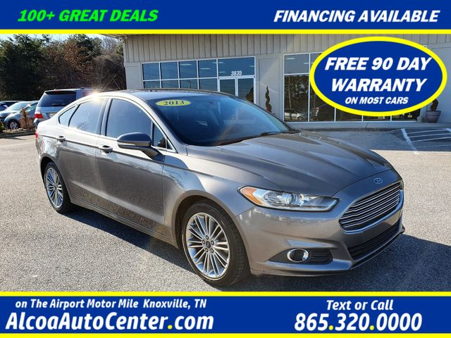 "2013 Ford Fusion SE w/SYNC/Leather/Sunroof/18"" Alloys"