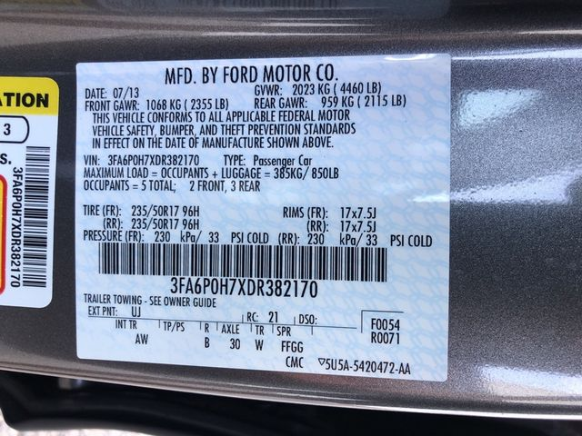 2013 Ford Fusion SE Madison, NC 43